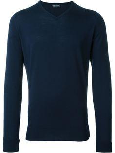 свитер с V-образным вырезом 'Bower' John Smedley