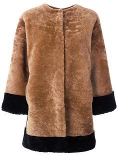 куртка на пуговицах без воротника Daniela Pancheri