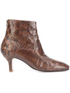 snakeskin effect ankle boots Rachel Comey