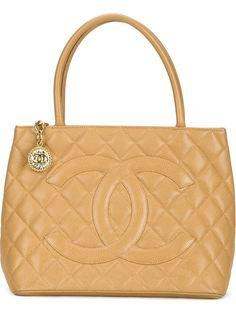 сумка-тоут 'Medallion' Chanel Vintage