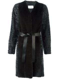belted coat Yves Salomon
