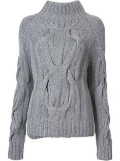 cable knit jumper Sally Lapointe