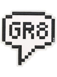 'GR8' sticker Anya Hindmarch