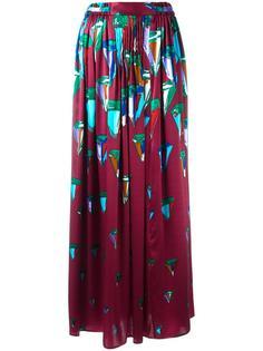 длинная юбка с принтом Tsumori Chisato