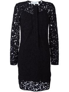 lace layer dress Victoria Victoria Beckham