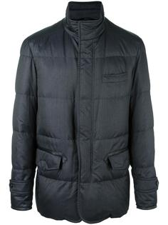 padded raincoat Brioni