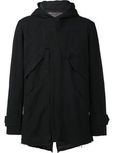 hooded zipped jacket By Walid