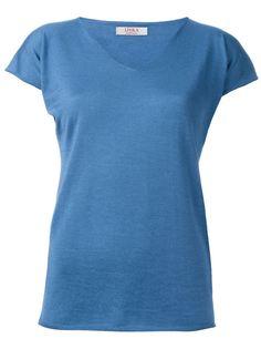 футболка с V-образным вырезом Liska