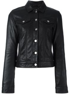 buttoned leather jacket  Calvin Klein Jeans