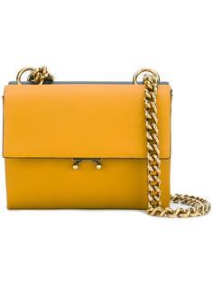 двухцветная сумка через плечо Marni