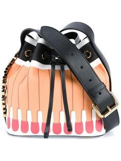 сумка-мешок с принтом спичек Moschino