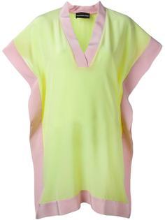 платье с контрастным подолом  Marco Bologna