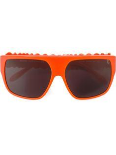 солнцезащитные очки с логотипом Moschino