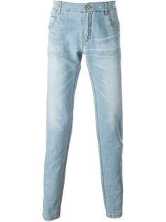 джинсы кроя слим Ermanno Scervino