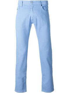 брюки-чинос с подвернутыми манжетами Z Zegna
