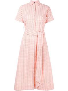 платье-рубашка в клетку Lisa Marie Fernandez