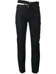 джинсы асимметричного кроя  Faustine Steinmetz