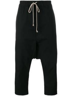 брюки с заниженным шаговым швом Rick Owens