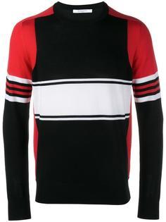 свитер дизайна колор-блок Givenchy