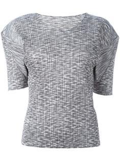 гофрированная футболка  Pleats Please By Issey Miyake Vintage