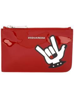 косметичка с аппликацией 'Punk' Dsquared2