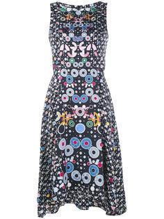 трапециевидное платье с цветочным узором Peter Pilotto