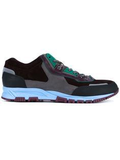 кроссовки с панельным дизайном Lanvin