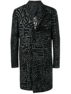 пальто с геометрическим принтом  Etro