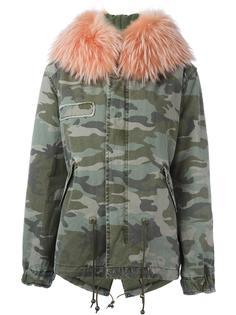 куртка со съемным мехом Mr & Mrs Italy