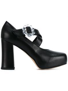 туфли на массивном каблуке  Simone Rocha