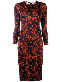 платье с цветочным принтом  Givenchy
