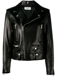 байкерская куртка  Saint Laurent