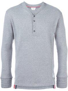 свитер в рубчик Thom Browne