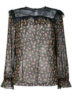 блузка с цветочным принтом Philosophy Di Lorenzo Serafini