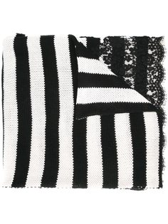 полосатый шарф Ermanno Scervino