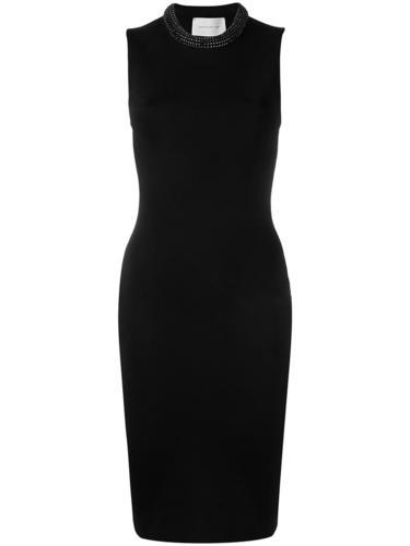 облегающее платье с украшением из кристаллов Swarovski Christopher Kane