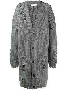 объемное пальто-кардиган J.W.Anderson