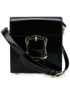сумка на плечо с объемной пряжкой Simone Rocha