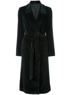 пальто средней длины с поясом Tagliatore