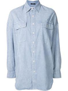 джинсовая рубашка свободного кроя R13