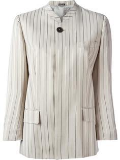 стилизованный полосатый пиджак Maison Margiela