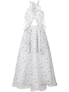 платье с цветочным принтом  Rosie Assoulin