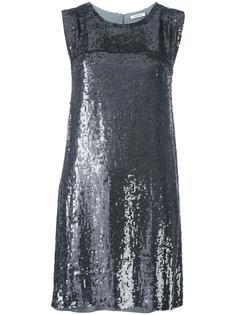 платье мини с пайетками P.A.R.O.S.H.