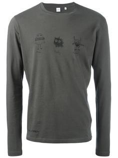 футболка с графическим принтом  Aspesi