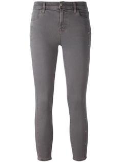 укороченные узкие джинсы 'Alba' J Brand