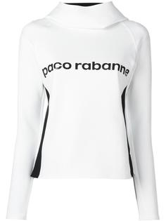толстовка с принтом логотипа Paco Rabanne