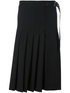 плиссированная юбка  Yohji Yamamoto