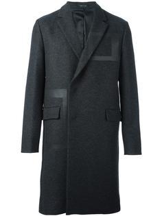 пальто с панельным дизайном Emporio Armani