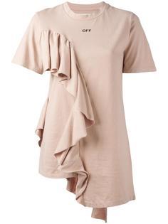 футболка с рюшами Off-White