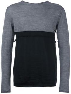 пуловер дизайна колор-блок Comme Des Garçons Shirt